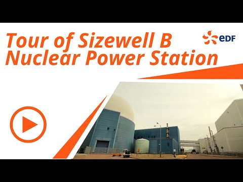 Take a tour of Sizewell B nuclear power station