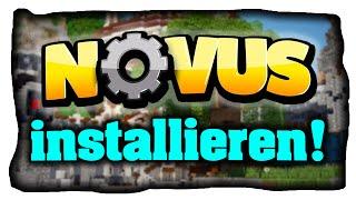 Minecraft NOVUS Modpack installieren (Tutorial) - Bevo's Tech Pack Modpack