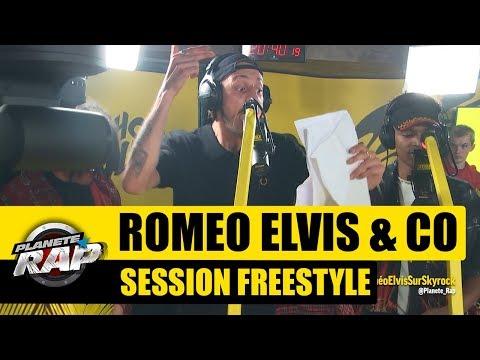 Roméo Elvis - Session Freestyle avec L'or du Commun, Moka Boka & Lord Gasmique #PlanèteRap