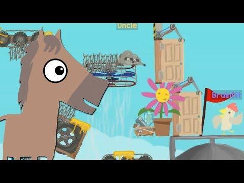 видео: САМЫЙ СЛОЖНЫЙ УРОВЕНЬ! 100% УГАР! -  Ultimate Chicken Horse