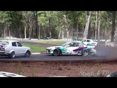 Drifting Port Macquarie - 3 Car Team Battle, Spawn The Drift 3