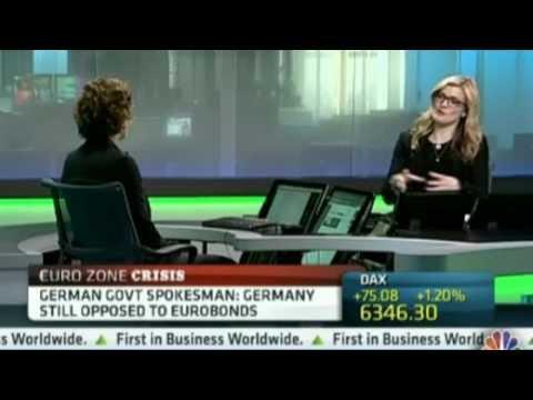 CNBC - You Need Political Union Before Eurobonds - Megan Greene 20120521