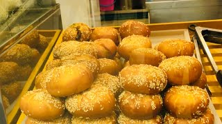 Deep Fried Chinese Bun ( Fried Siopao ), Food World, Bangkok Government Complex | Thailand