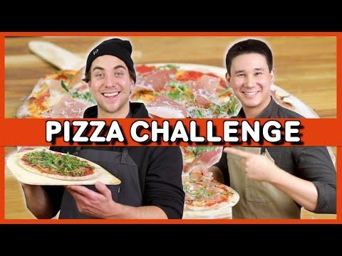 Vilken Youtuber Gör Bäst Pizza? | Ft. SampeV2