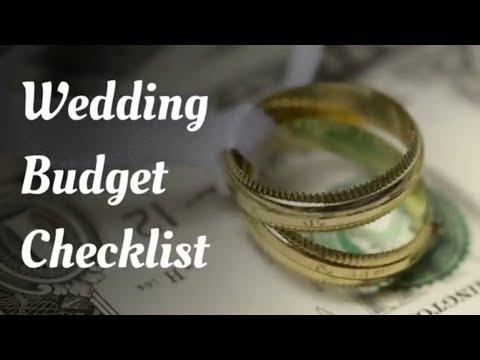 how much should you spend on your wedding wedding budget checklist