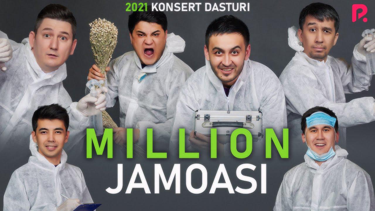 MILLION JAMOASI 2021KONSERT DASTURI