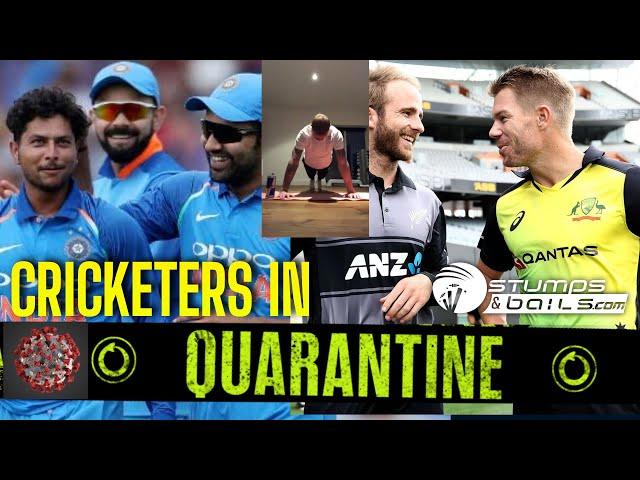 What Are Cricketers Doing In Quarantine? | Covid19 | Cricket and Coronavirus | #Coronavirusalert