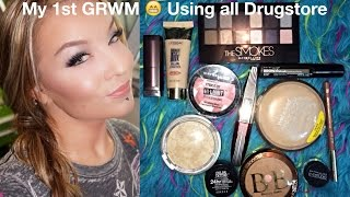 My 1st GRWM : All Drugstore Makeup : Maybelline The Smokes Palette Thumbnail
