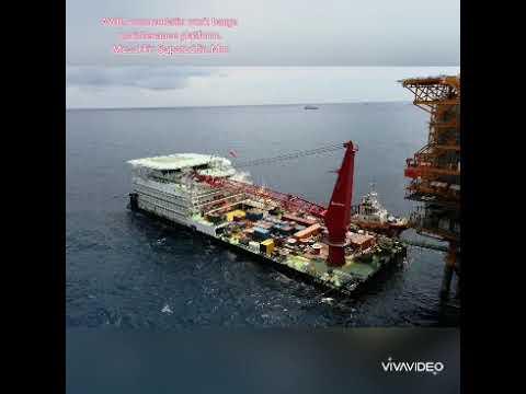 AWB.Acomodation work Barge Maintenance platform