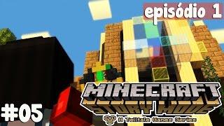 Minecraft Story Mode #05 - UMA DIFÍCIL DECISÃO!