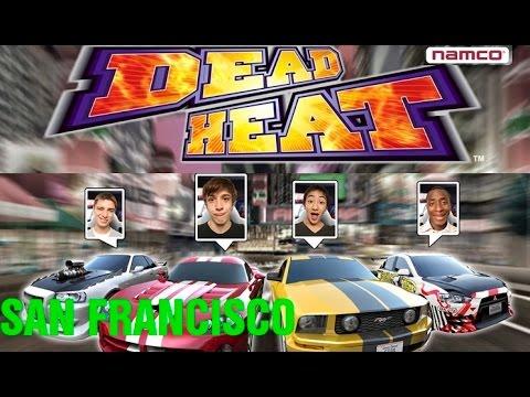Namco Dead Heat San Francisco Arcade Racing Car Game Coin Op Youtube