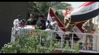 """الحشد الشعبي الشيعي يتوعد بالقضاء على """"قتلة الحسين"""" في الموصل."""