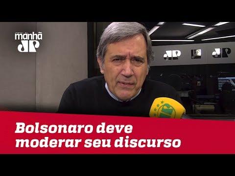 Bolsonaro deve moderar seu discurso e acreditar nessa moderação | Marco Antonio Villa