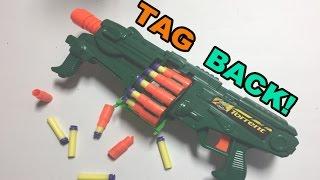 TAG BACK! - BuzzBee Torrent, the foam blasting Street Sweeper Shotgun | Walcom S7