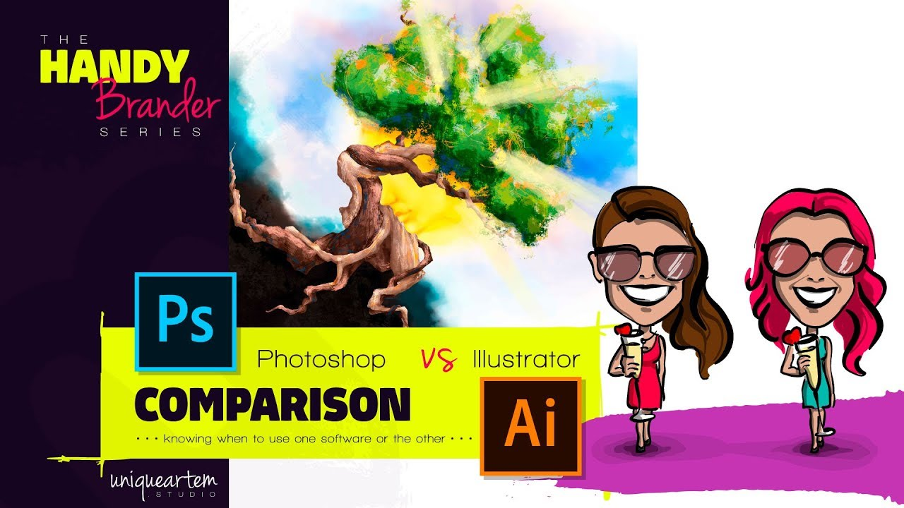 photoshop v illustrator