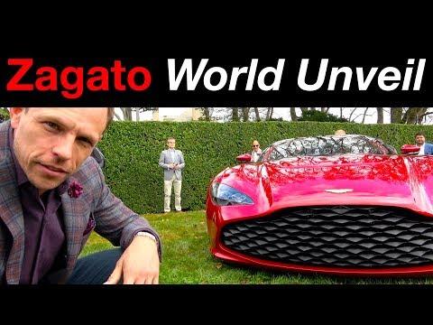 Aston Martin DBS GT Zagato world premier review