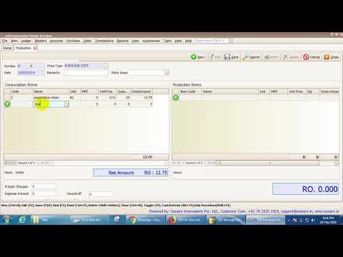 Infi/Pos Production tutorial/Accounting and Inventory Software thumbnail