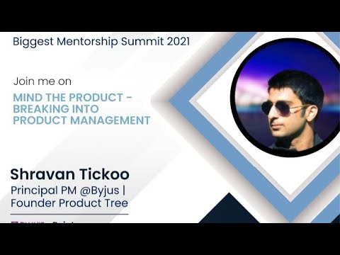 Breaking into Product Management   Mentor Conference 2021
