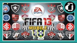 FIFA 13 MOBILE - JOGANDO COM TIMES BRASILEIROS