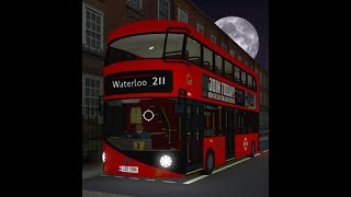 ROBLOX | London & South Bus Simulator V7.2 | Route 211: Victoria to Waterloo