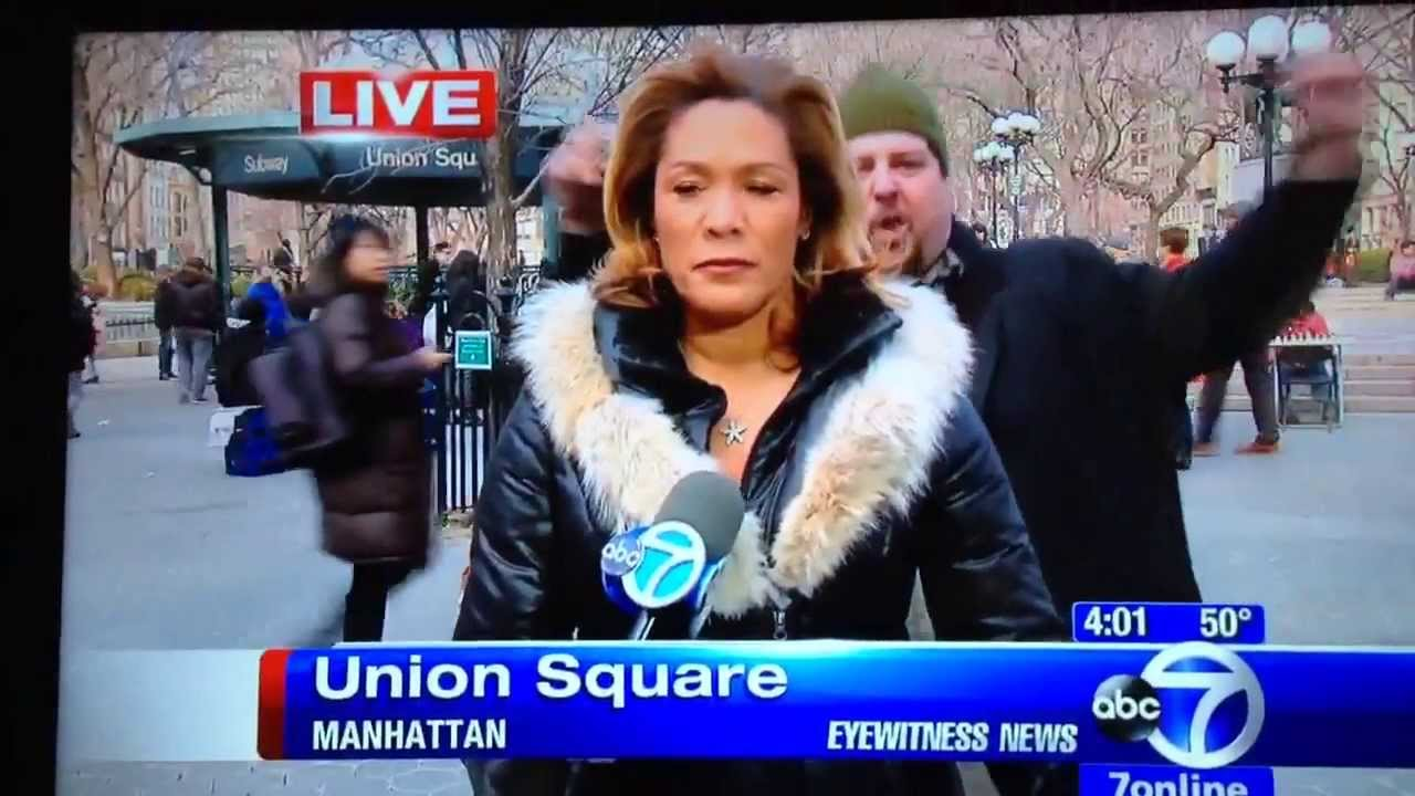 Out of Retirement and Booey-Bombing NYC's WABC-7 News