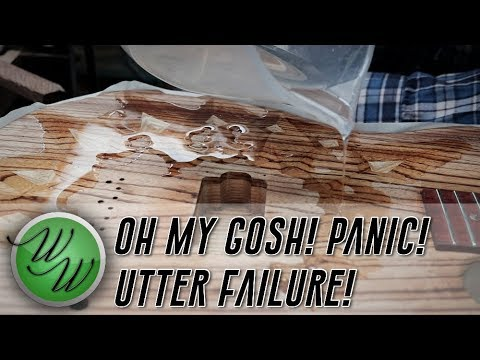 Utter Failure and How to Fix the Zebrano Chip Carved Top - Weekend Workshop