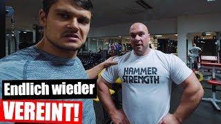 Hartes Training mit ehmaligen BodyBuilder - Fitness Vlog