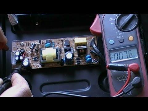 показать схемы блок питания видеомагнитофона