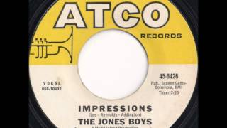 The Jones Boys - Impressions
