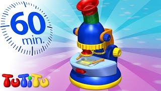Repeat youtube video TuTiTu Specials | Microscope | And Other Popular Toys for Children | 1 HOUR Special