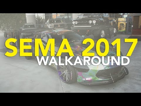2017 SEMA Show Walkaround: What Does a First-Time SEMA Attendee Think?