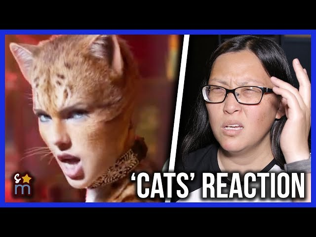 CATS (2019) Official Trailer REACTION!