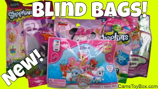 Toy Surprises Blind Bags Shopkins Fashion Tags Trolls Series 2 Light Ups Minnie Kitty in My Pocket