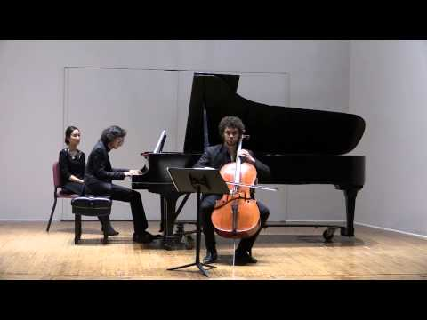 Mendelssohn Cello Sonata No. 2 (I. Allegro assai vivace)