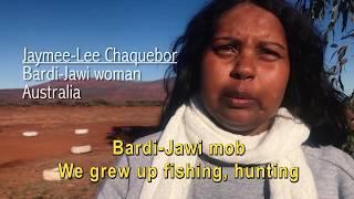 Video-message Jaymee-Lee Chanquebor Bardi-Jawi woman, Australia - #IndigenousWomen Campaign 2018