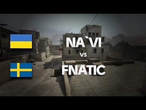 Na`Vi vs Fnatic on de_dust2