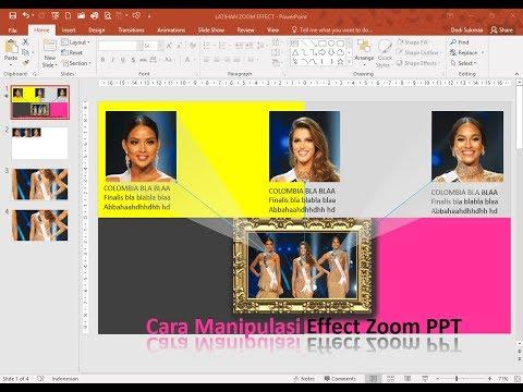 Cara Mudah Manipulasi Effect Zoom dengan Animasi PowerPoint