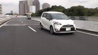 トヨタ・シエンタ 試乗インプレッション 走行編