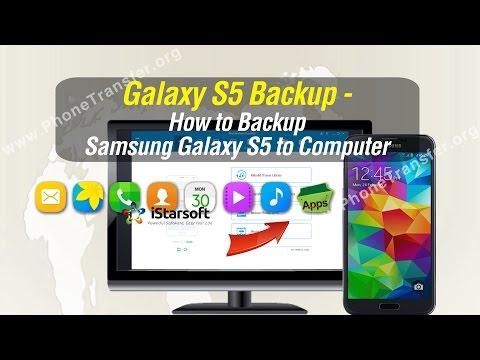 Galaxy S5 Backup - How to Backup Samsung Galaxy S5 to Computer