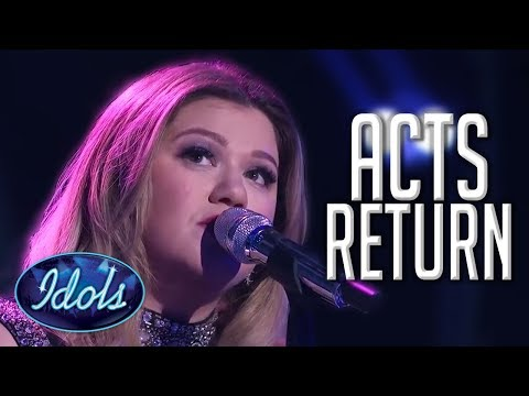 When CONTESTANTS Come Back On American Idol! | Idols Global