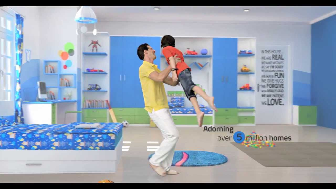 Kids Bedroom Laminates royale touche | office | showroom | kids room | thin laminates