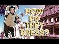 HOW DO THEY DRESS ? ITALIANS VS AMERICANS