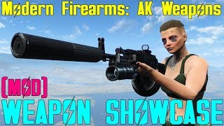 Fallout 4: Weapon Showcases: Modern Firearms - AK Weapons