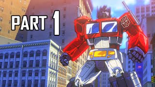 Transformers Devastation Walkthrough Part 1 - City of Steel (PS4 Gameplay Let's Play Commentary)