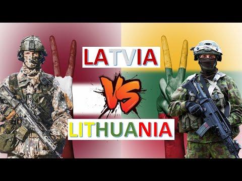 Latvia vs Lithuania Military Power & Economic Comparison 2020