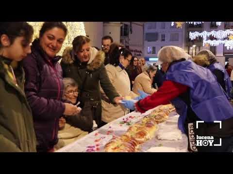 Lucena celebró su tradicional Roscón Gigante de Reyes, este año a beneficio de Autismo Lucena