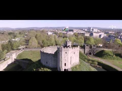 Inside Cardiff Castle