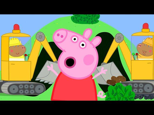 Peppa Pig Français NOUVEAU ! 🚜 La nouvelle route de Mr Bull | Dessin Animé Pour Bébé