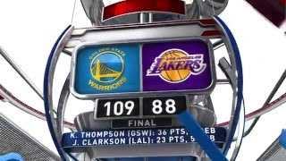 golden state warriors vs los angeles lakers january 5 2016
