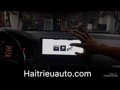 Màn hình android cho Audi Q7 2006